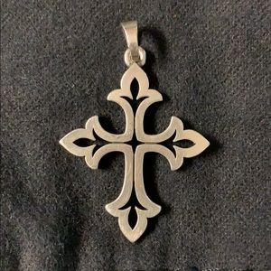 James Avery Fleur cross